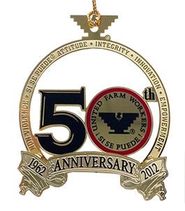 UFW 50th Anniversary Holiday Ornament