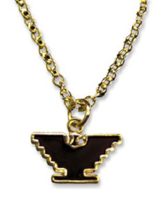Gold-Tone Eagle Necklace