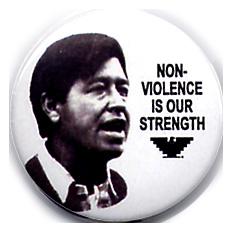 Non-Violence Button