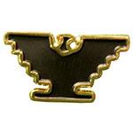 Gold-Tone Eagle Lapel Pin