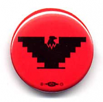 Small Eagle Button