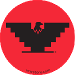 Red Logo Stickers