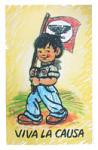 Poster, Viva la Causa, Boy, Gomez