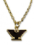 Gold-Tone Eagle Necklace