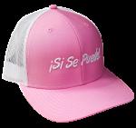 Pink Si Se Puede Mesh Cap