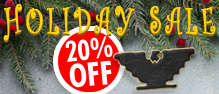 20% off select items and free shipping on orders over $50.00