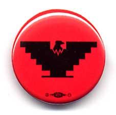 Small Eagle Button