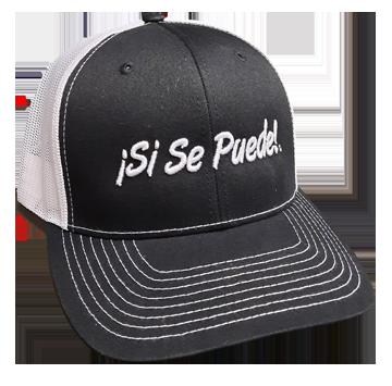 Black Si Se Puede Mesh Cap