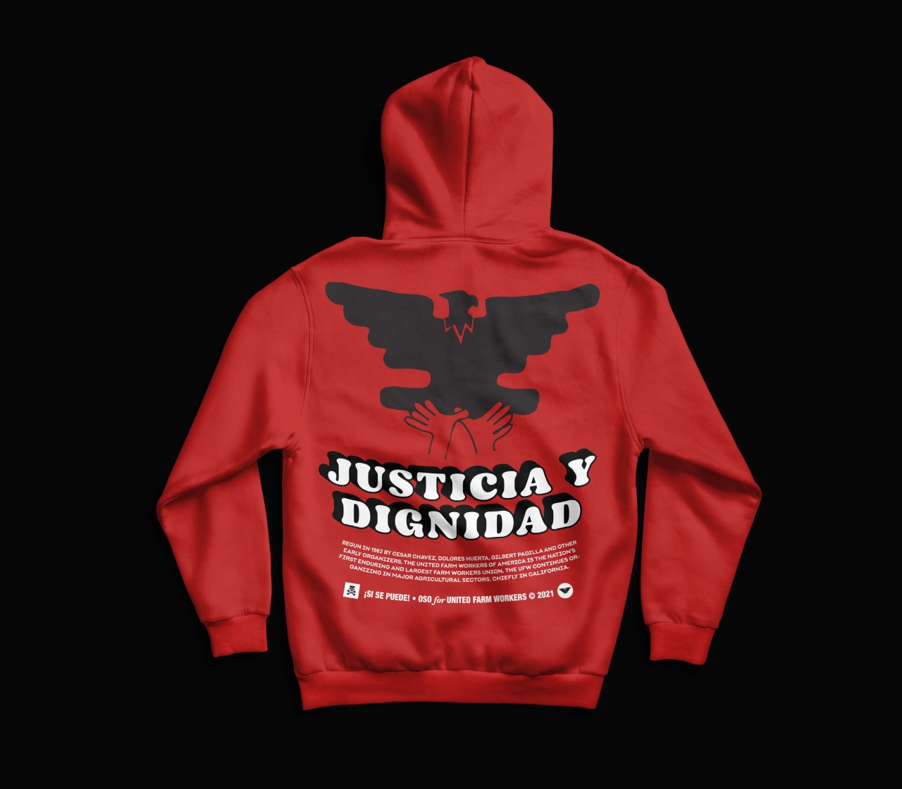 Justicia Hooded Sweatshirt