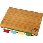 5-Piece Bamboo Cutting Board