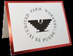 UFW Red Foil Card Set with Envelopes