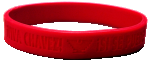 "Wristband, Red,""Viva Chavez"" Si Se Puede"