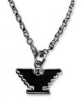 Silver-Tone Eagle Necklace