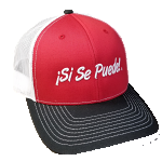 Red Si Se Puede Mesh Cap